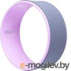 Колесо для йоги Starfit YW-101 (серый/розовый)