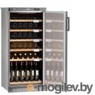 Винный шкаф Pozis ШВ 52 серебристый