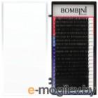 Ресницы для наращивания Bombini Микс D-0.10 9-12 (20 линий)