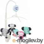 Мобиль на кроватку Baby Mix TK/494М (слоны и обезьянки)