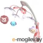 Мобиль на кроватку Baby Mix Джунгли / RC-822-206 (розовый)