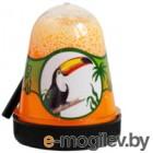 Слайм Jungle Slime Тукан с белыми шариками / BS300-132