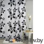 Aquarius Черные цветы 180х200cm Black-White 5015550155