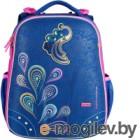 Школьный рюкзак Mike&Mar Жар Птица / 1008-176 (голубой/розовый)