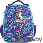 Школьный рюкзак Mike&Mar Единорог / 1008-185 (фиолетовый)