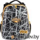 Школьный рюкзак Mike&Mar Паук / 1008-195 (серый/оранжевый)