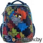 Школьный рюкзак Mike&Mar Пазл / 1008-151 (синий)