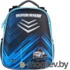 Школьный рюкзак Mike&Mar Ралли / 1008-194 (серый/синий)