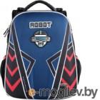 Школьный рюкзак Mike&Mar Робот / 1008-190 (синий)