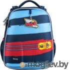 Школьный рюкзак Mike&Mar Спорткар / 1008-199 (синий/красный)