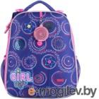 Школьный рюкзак Mike&Mar Фейерверк / 1008-184 (фиолетовый)