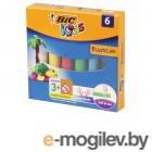 Bic Пластилин Kids 6 цветов 60g 947712