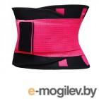 Одежда для похудения и корректирующее белье Фитнес пояс для похудения CleverCare размер XL Pink TX-LB033P