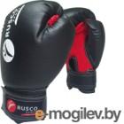 Боксерские перчатки RuscoSport 4oz (черный)