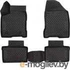 Комплект ковриков для авто ELEMENT CARLD00001K для Lada Vesta (4шт)