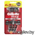 Gillette Blue 3 Red 6шт 7702018516759