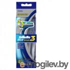 Gillette Blue Simple3 4шт 7702018429622