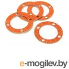 Уплотнители, вставки, сальники. Прокладки корпуса дифференциала - E6 (4шт).