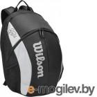 Сумка/рюкзак теннисный Wilson Super Tour Backpack Bold / WR8005901001 (черный/серый)