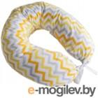 Подушка для беременных Martoo С наволочкой Mommy / MOM-YGZ (желто-серый зигзаг)