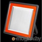 Прожектор светодиодный СДО PFL-S 400w 6500K 60° IP65 (плоский корпус)   5001893A   Jazzway