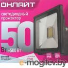 Прожектор светодиодный OFL-50-6K-BL-IP65-LED   71660   ОНЛАЙТ