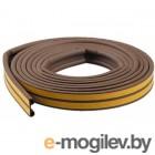 Уплотнитель Е коричневый 10х4мм 6м STARFIX (SF1010-02)