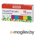 Пифагор Пластилин 12 цветов 120g 103678