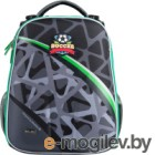 Школьный рюкзак Mike&Mar Футбол / 1008-202 (темно-серый/зеленый)