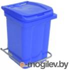 Контейнер для мусора Plastik Gogic 60л (синий)