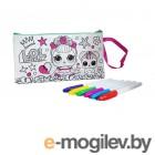 Раскрашивание и рисование Пенал-клатч для раскрашивания LOL Glam Life LC0005