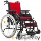 Кресло-коляска инвалидная Vitea Care Cameleon из алюминиевого сплава 16 41см / VCWK9AC (красный)