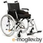 Кресло-коляска инвалидная Vitea Care Forte Plus стандартная с литыми колесами 16 41см / VCWK42L