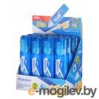 Ручка корректор Deli EH10790 голубой корпус белый 12мл дисплей картонный