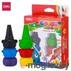 Восковые мелки Deli EC20790 Color Kids 6цв. картон.кор./европод.