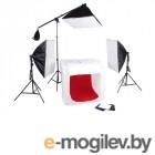 комплекты для макросъемки Falcon Eyes LFPB-3 LED Kit 27826