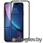 для APPLE iPhone Защитное стекло LuxCase для APPLE iPhone 12 Max 2.5D Full Glue Black Frame 78374