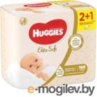 Влажные салфетки Huggies Elite Soft многослойные (168шт)