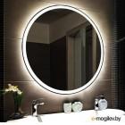 Зеркало Пекам Ring 1 80x80 (с подсветкой)