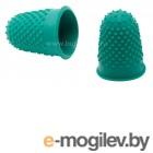 Напалечник для бумаг Silwerhof 672202 d=17мм h=28мм зеленый резина