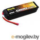 Силовые аккумуляторы LiPo 22.2V. Аккумулятор силовой стандарт 22.2V 5000mAh 25C LiPo Black Magic (силовой разъем Deans). Радиоуправляемые модели