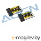 Силовые аккумуляторы LiPo 3.7V. Align Li-pol 3.7V 530mAh, 20C, 1s1p, T-Rex M424. Радиоуправляемые модели