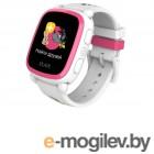 Детские умные часы Elari KidPhone Ну, погоди! White-Pink