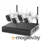 Комплект видеонаблюдения Dahua KIT/NVR1104HS-W-S2/4-G26E