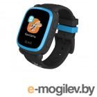 Детские умные часы Elari KidPhone Ну, погоди! Black-Light Blue