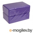 Скакалки, пояса, диски, степы и другие аксессуары Блок для йоги ZDK 7.5cm 2шт Purple