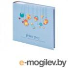 Фотоальбомы и фоторамки Фотоальбом Brauberg Baby Boy 10х15cm Light Blue 391144