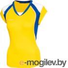 Майка волейбольная 2K Sport Energy / 140042 (XS, желтый/синий/белый)