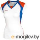 Майка волейбольная 2K Sport Energy / 140042 (XXL, белый/синий/красный)