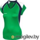 Майка волейбольная 2K Sport Energy / 140042 (XXS, зеленый/темно-синий/белый)